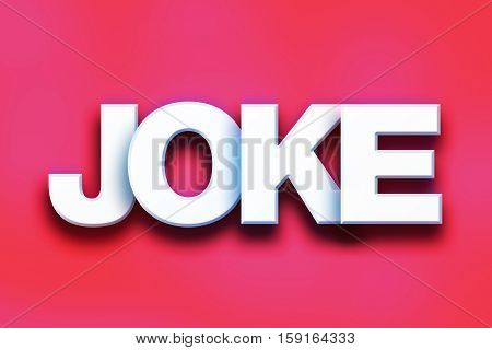 Joke Concept Colorful Word Art
