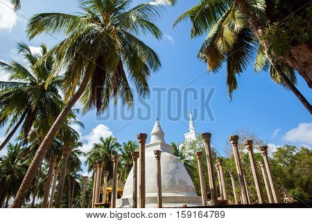 Buddhist temples Ambasthala Dagoba MIHINTALE SRI LANKA