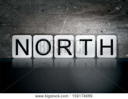 North Tiled Letters Concept And Theme