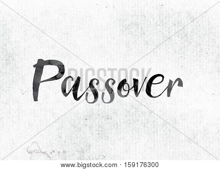 Passover Concept Painted In Ink