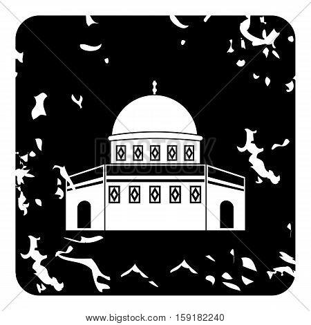 Madrasah icon. Grunge illustration of madrasah vector icon for web