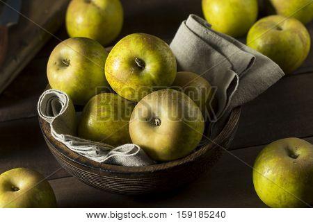 Raw Organic Heirloom Golden Russet Apples