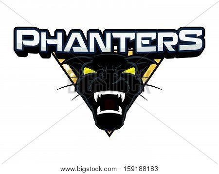 panthers banner vector illustration design eps 10