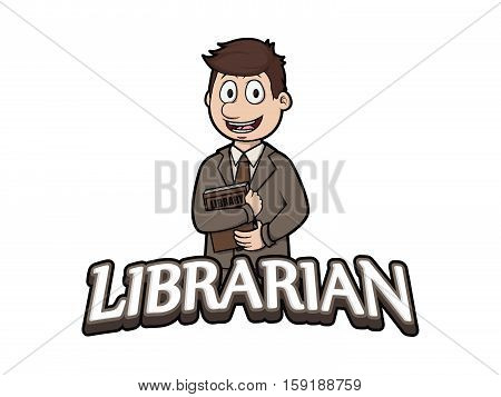 librarian logo antique, art, attractive, book, books, casual, character, cool, design, education, fashion, funny, glasses, gray, guy, happy, historical, history, illustration, image, interior, isolated, leisure, librarian, library, lifestyle, male, man, o