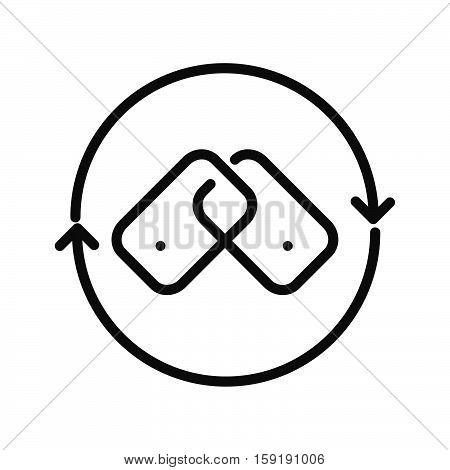 backlink building vector illustration design eps 10