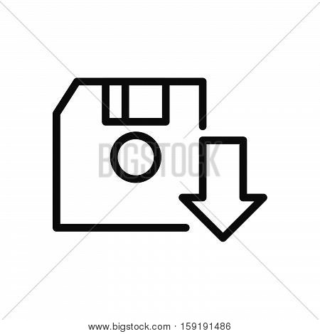 save game diskette vector illustration design eps 10
