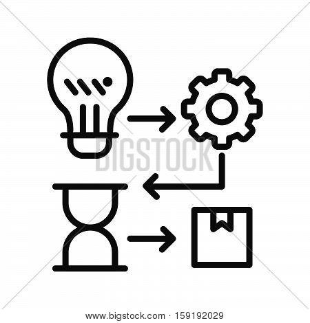creation process vector illustration design eps 10