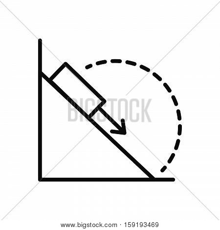 physic experiment vector illustration design eps 10