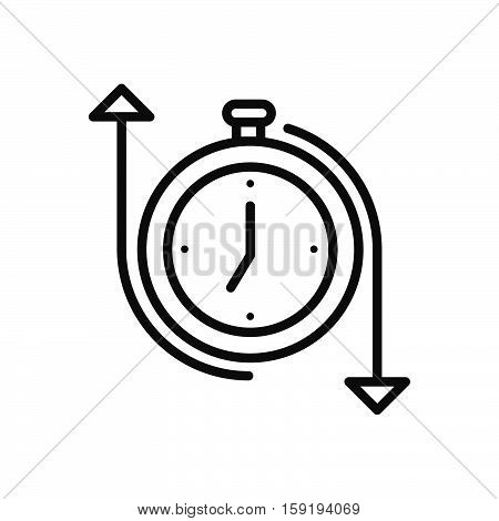 time control method vector illustration design eps 10