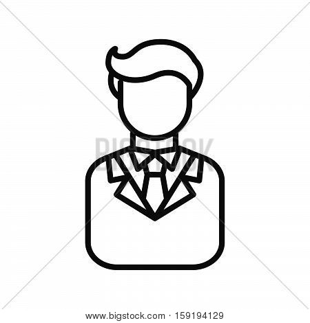 enterpreneur avatar illustration design eps 10 vector