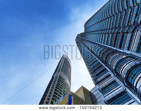 Downtown Of Kuala Lumpur In Klcc District