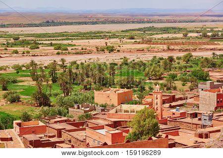 Picturesque Mountain Moroccan Village