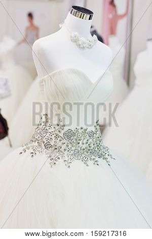 Beautiful Wedding Dresses On Mannequins