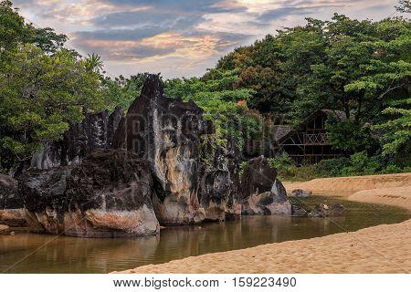 Landscape Of Masoala National Park, Madagascar
