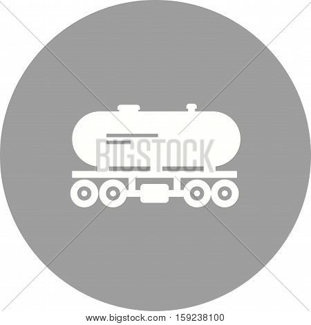 Tank, wagon, fuel icon vector image. Can also be used for Industrial Process. Suitable for web apps, mobile apps and print media.