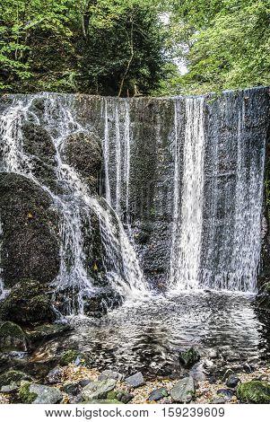 A waterfall in the Alva Glen, Scotland