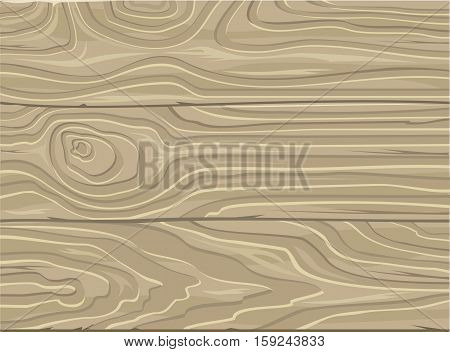 Natural Wooden Background. Wood texture. Striped timber desk wooden grain plank. Grey boards for autumn background. Natural wood planks. Messy grungy crack beech, oak tree table or floor. Vector