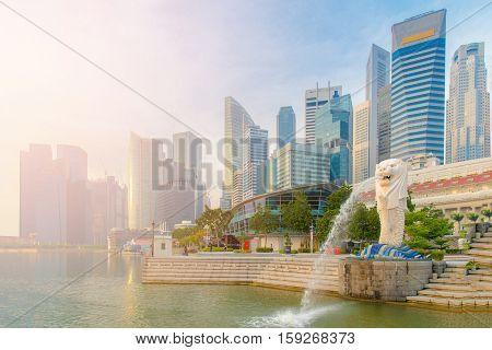 24 October 2016 : Singapore Landmark, Merlion