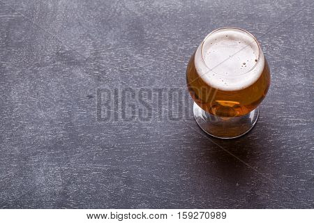 Strong Beer On Blackboard