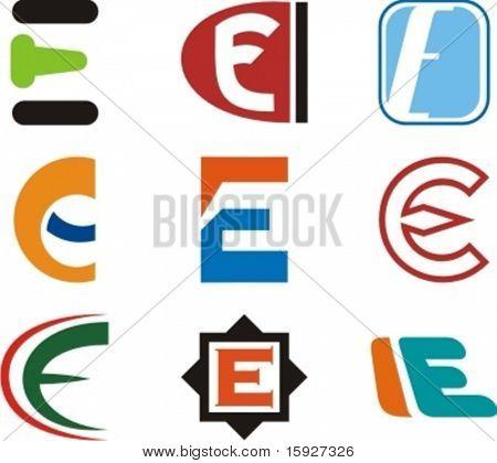 Alphabetical Logo Design Concepts. Letter E. Check my portfolio for more of this series.