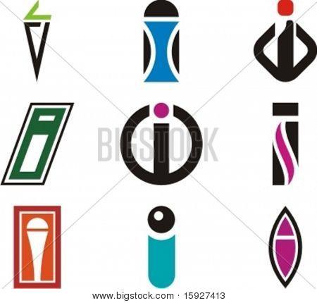 Alphabetical Logo Design Concepts. Letter I. Check my portfolio for more of this series.