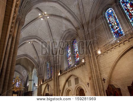 Saint-maurice Cathedral, Angers In France