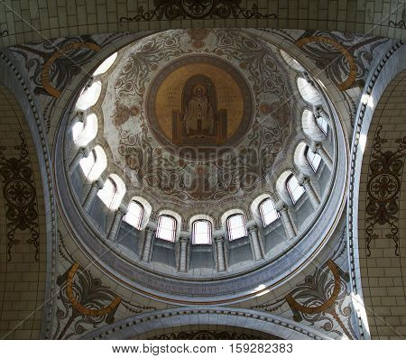 Tours, France, May 07: Tours, France, May 07, 2012. Interior Of The Basilica Of Saint-martin