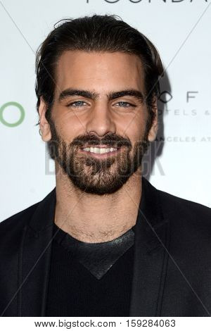 LOS ANGELES - NOV 30:  Nyle DiMarco at the Nyle DiMarco Foundation Love & Language Kickoff Campaign 2016 at Sofitel Hotel on November 30, 2016 in Beverly Hills, CA