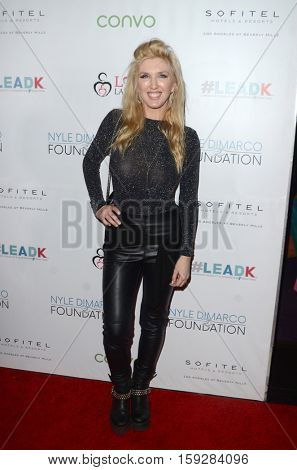 LOS ANGELES - NOV 30:  Erin Gavin at the Nyle DiMarco Foundation Love & Language Kickoff Campaign 2016 at Sofitel Hotel on November 30, 2016 in Beverly Hills, CA