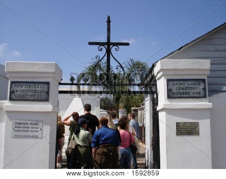 St. Louis Cemetary Number One Entrance