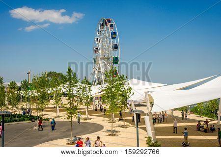Kok Tobe Amusement Park, Almaty