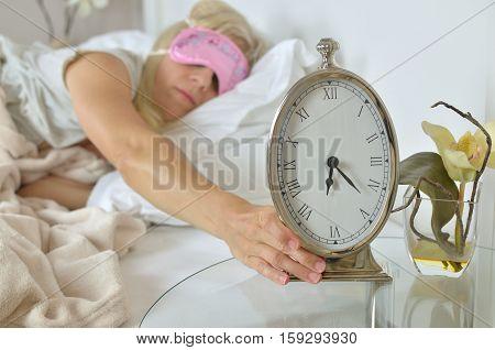 Alarm Clock Showing 6.23 Am