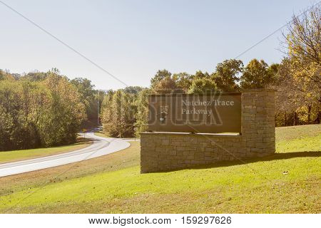 Northern Terminus Of Natchez Trace Parkway