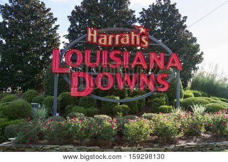 Louisiana Downs Entrance Sign