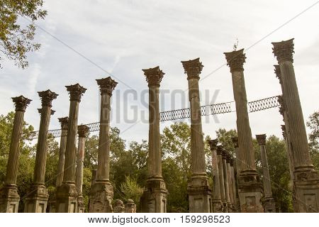 Greek Revival Pillars Of Windsor Ruins, Mississippi