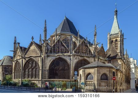 The Church of Saint-Severin is a Roman Catholic church in the Latin Quarter of Paris. It is one of the oldest churches