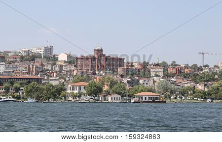 Fatih District In Istanbul City