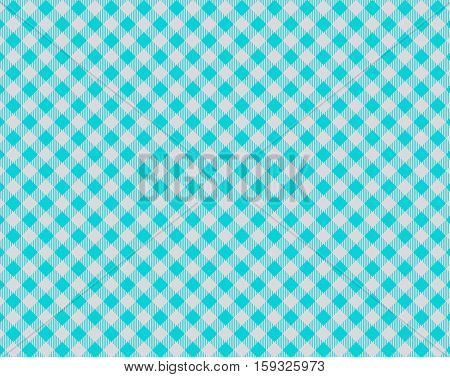 Diagonal traditional tablecloth background blue and grey