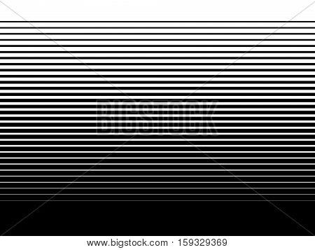 Modern Halftone Stripes background black and white