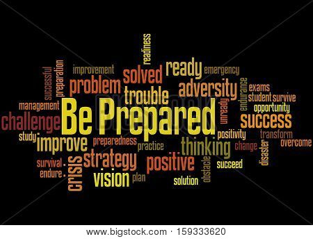 Be Prepared, Word Cloud Concept