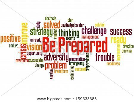 Be Prepared, Word Cloud Concept 3