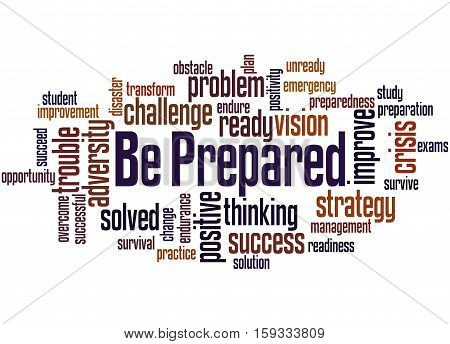 Be Prepared, Word Cloud Concept 5