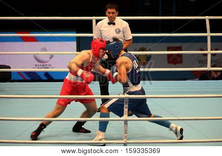 St. Petersburg Russia November 21 2016 AIBA Youth World Boxing Championship