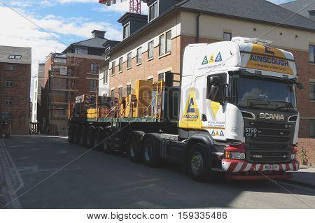 Scania Long Vehicle Truck
