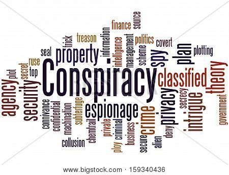 Conspiracy, Word Cloud Concept 8
