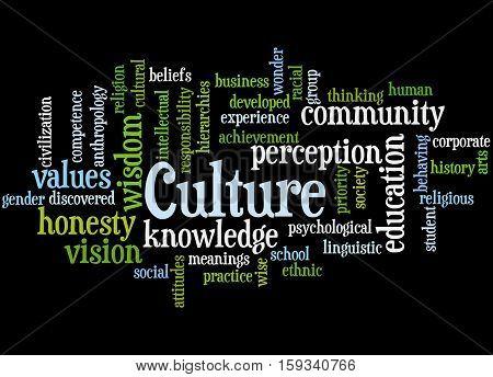Culture, Word Cloud Concept 5