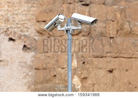 security camera and urban video cctv for surveillance