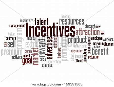 Incentives, Word Cloud Concept 6