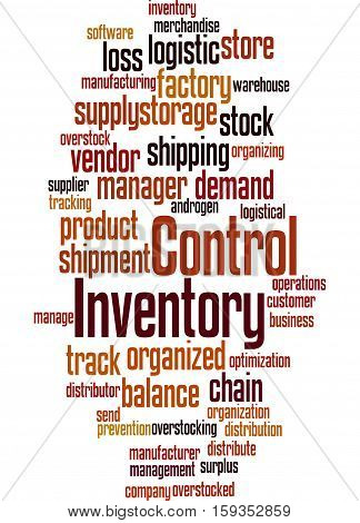 Inventory Control, Word Cloud Concept 3