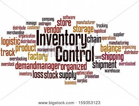 Inventory Control, Word Cloud Concept 5